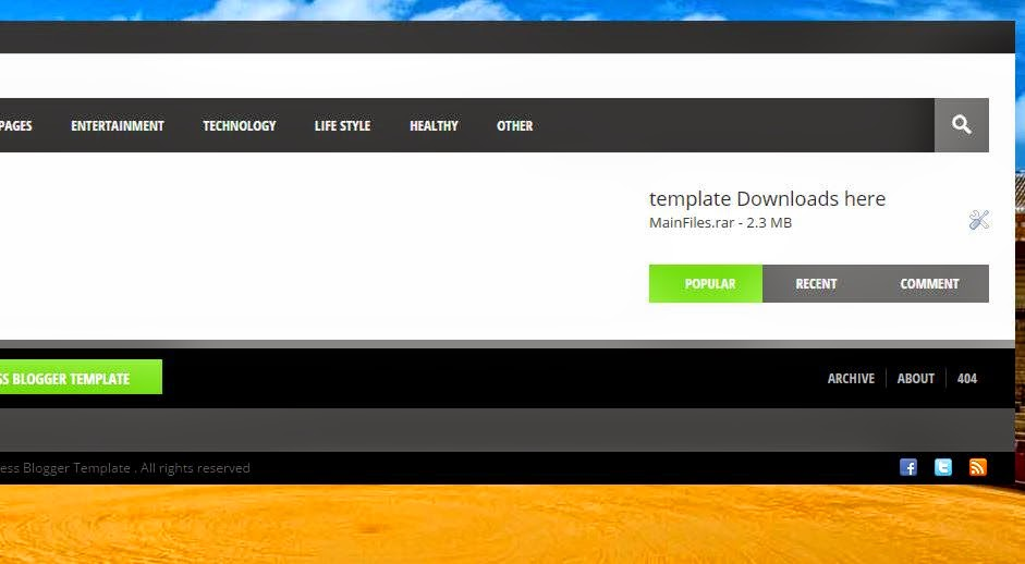 Nani press Blogger Template Downloads free