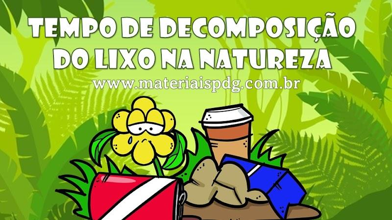 LIXO NA NATUREZA - DOWNLOAD PDF