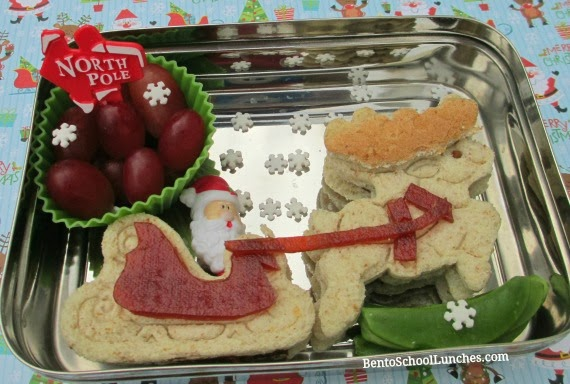 Santa, reindeer, snowman,christmas, school lunch,snack