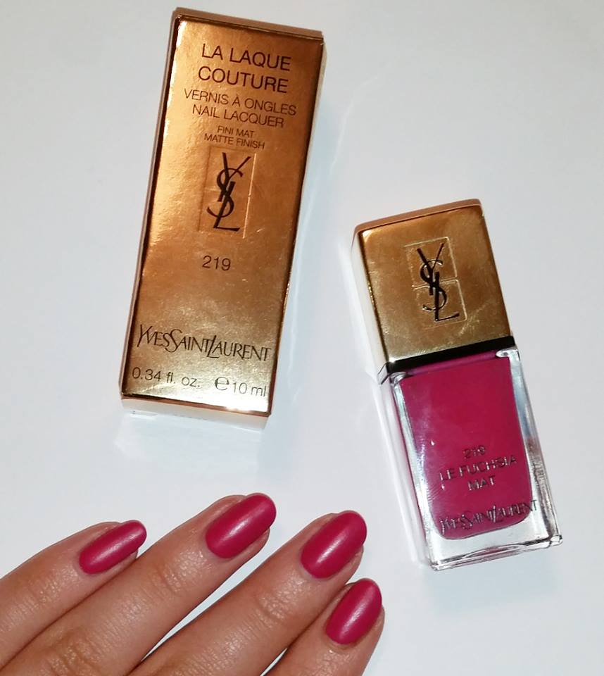 Review Yves Saint Laurent Nail Lacquer Lipstick And