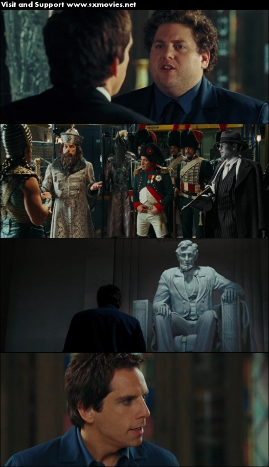 Night At The Museum - Battle Of The Smithsonian 2009 Dual Audio Hindi 720p BluRay