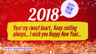 Your my sweet heart 2018 wishes for lovers