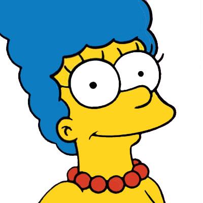 Los Simpson Personaje Marge Simpson
