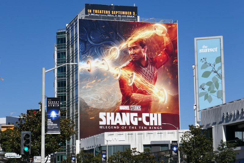 Shang-Chi Ten Rings movie billboard