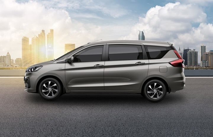 Loạt cải tiến đáng chú ý trên Suzuki Ertiga Sport