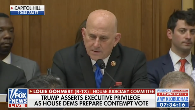 Louie Gohmert accuses FBI Director Wray of a Hillary Clinton emails cover-up
