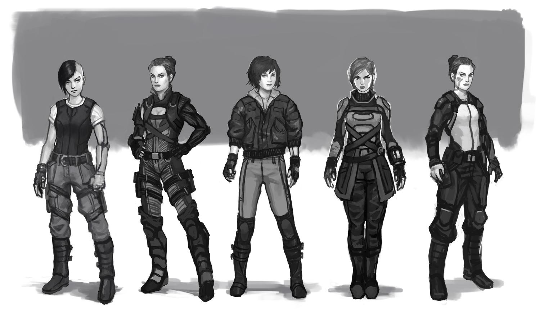Mitch Malloy Sci Fi Girls