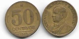50 centavos, 1945