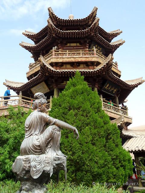 Κίνα, στον δρόμο του μεταξιού... Ο Βούδας της ερήμου / China, on the Silk Road