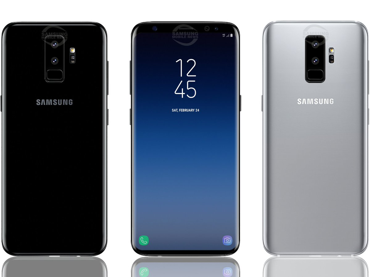 this is what samsung 39 s upcoming galaxy s9 may look like. Black Bedroom Furniture Sets. Home Design Ideas