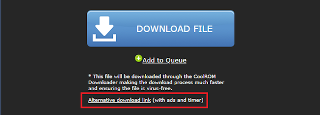 Download game PPSSPP tanpa ekstrak CoolROM