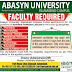 Abasyn University (AU) Islamabad Campus Jobs