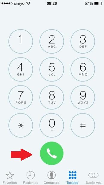 Los-nuevos-botones-en-la-aplicacion-Telefono-en-iOS-7.1 How to quickly redial the last phone number called on the iPhone Technology