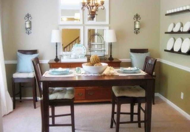 Model ruang makan sederhana - rumah idaman minimalis modern