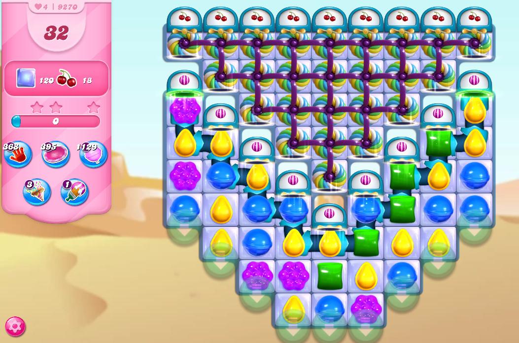 Candy Crush Saga level 9270