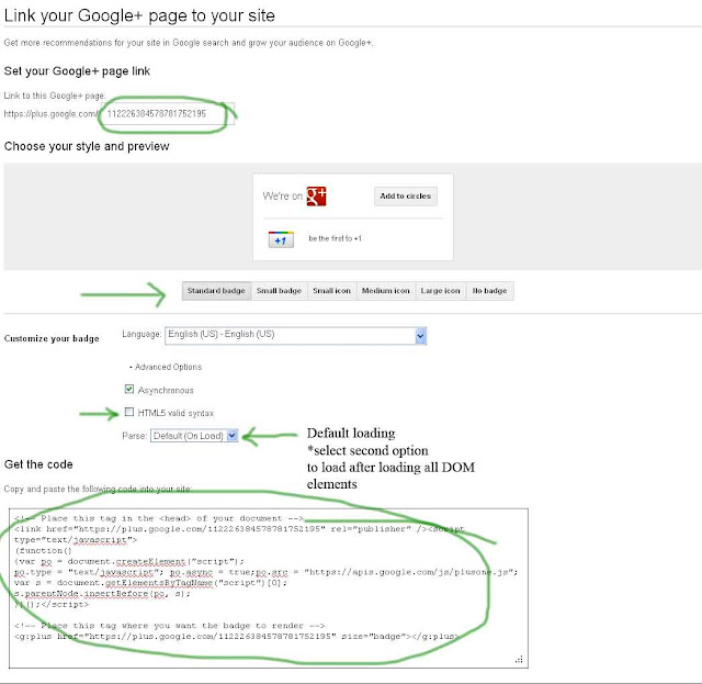 Create an Official Google plus Page to drive traffic