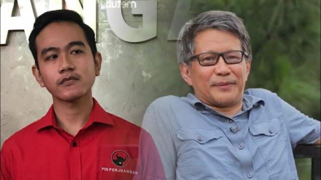 Sindir Gibran Anak Jokowi Nyalon di Pilkada Solo, Rocky Gerung: Kotak Kosong versus Otak Kosong!