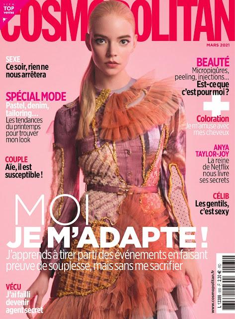 Anya Taylor-Joy – Cosmopolitan Magazine, France March 2021