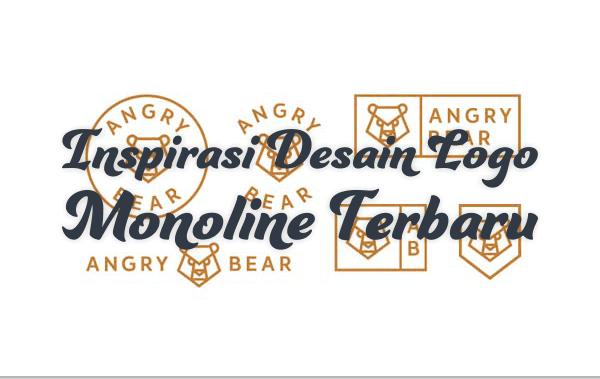 30+ Inspirasi Desain Logo Monoline 2017