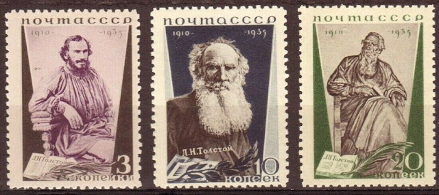 Tolstoy Russian Writer of Anna Karenina