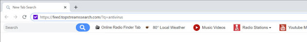 TopStreamsSearch Search (Hijacker)