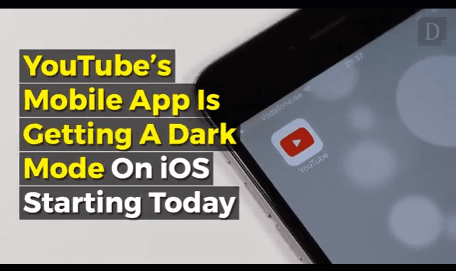 YouTube's 'Dark Mode' Is Arriving On iOS And Android: Here's How To Enable It