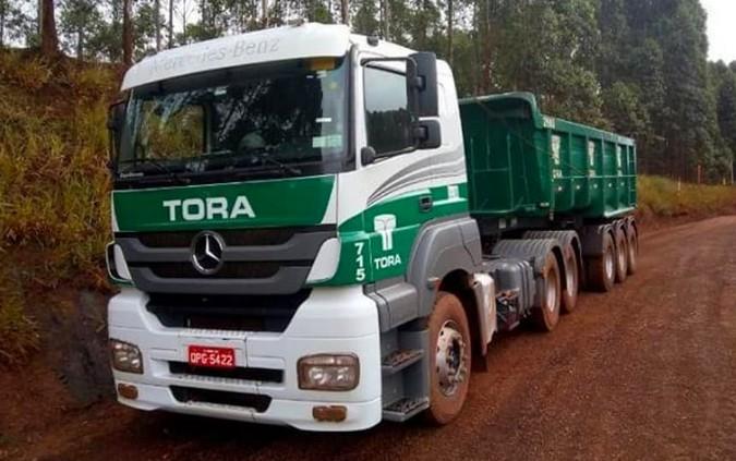 TORA Transportes divulga contratação de motoristas carreteiros