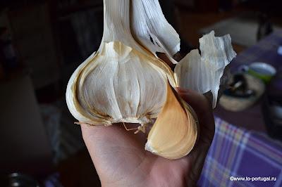 португальский чеснок