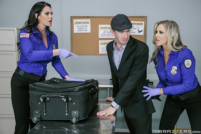 Alison Tyler, Julia Ann – Fluids on the Flight 2 (Big Tits At Work)