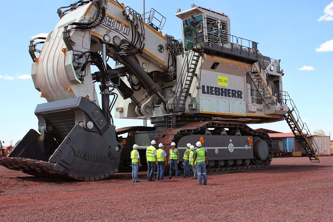 Liebherr 9800 Mining Excavator | Details | Images And More