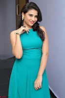 Priya Singh in a sleeveless Green Gown at Manasainodu music launch 011.08.2017 ~ Exclusive Celebrity Galleries 015.JPG