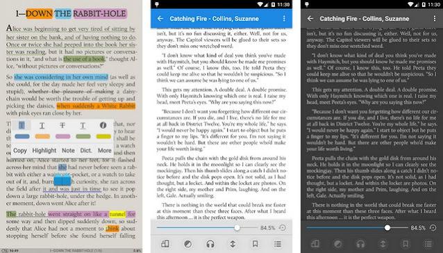 تطبيقات لقراءة الكتب العربية