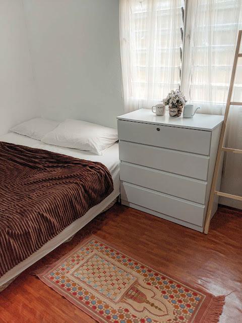 Deco Room : Ubahsuai Ruang Tidur Ala Bohomian