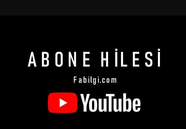 Youtube Günde 100 Abone Kazanma Hilesi Yeni Site Eylül 2020