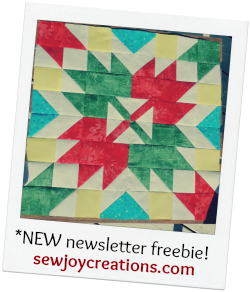 celebration leaves pattern newsletter signup button