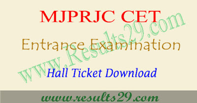 Mjptbcwreis hall ticket 2020 download, tsmjbc entrance test