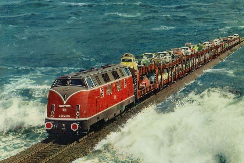fakta unik kereta api