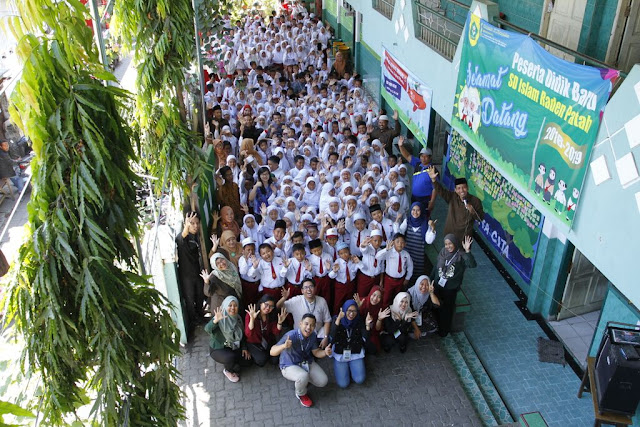 Kelas Inspirasi Surabaya 5 di SDI Raden Patah