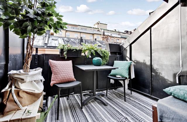 Dekorasi Balkon Cantik Modern