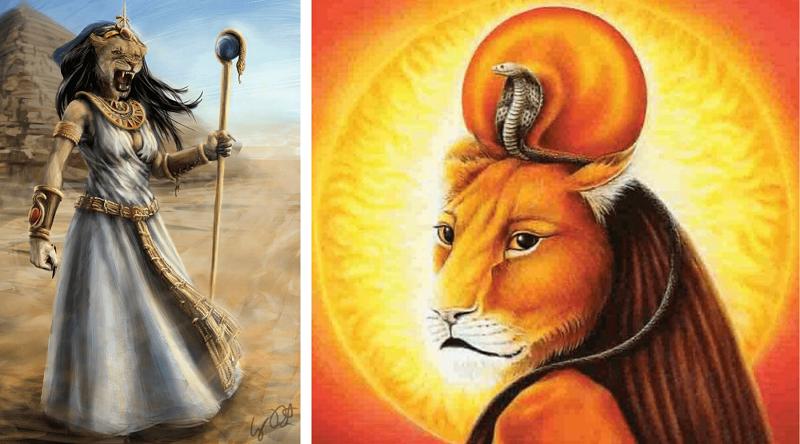 Tefnut - Deusa Egípcia da Água e da Fertilidade