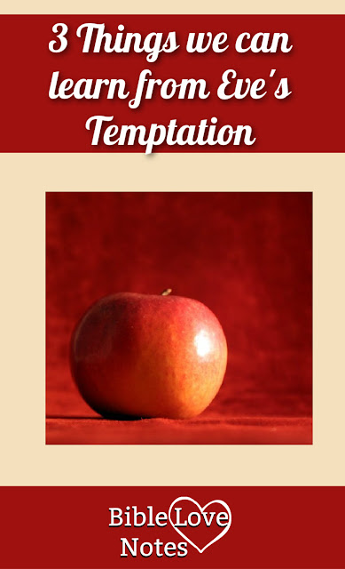 The temptation of Eve gives us some helpful warnings about the way Satan tempts us today. This 1-minute devotion explains.