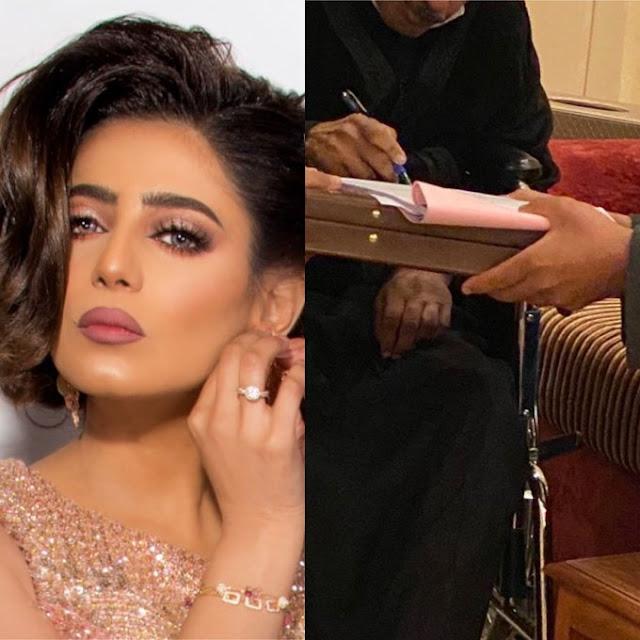 زواج الفنانة البحرينية شذى سبت وأحلام أولى المهنئات