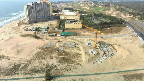 tiến độ thi công dự án IXORA Hồ Tràm