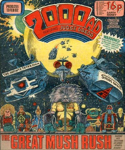 2000 AD, Prog 251, Ace Trucking