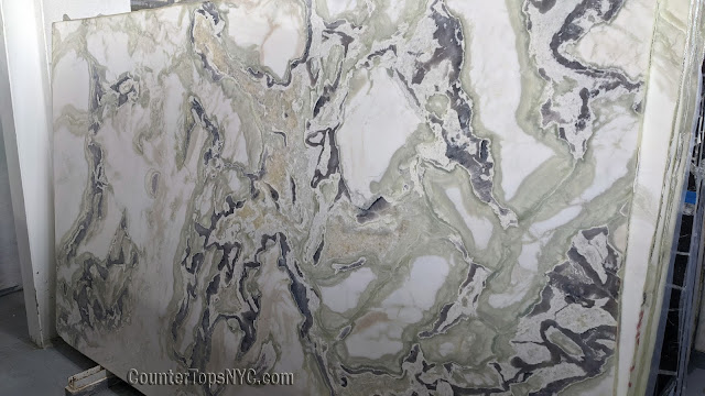 Tokyo White Marble Slabs NYC