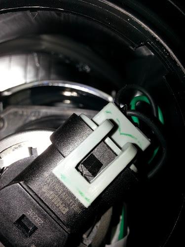 Fiat 500 Headlight Bulb Socket