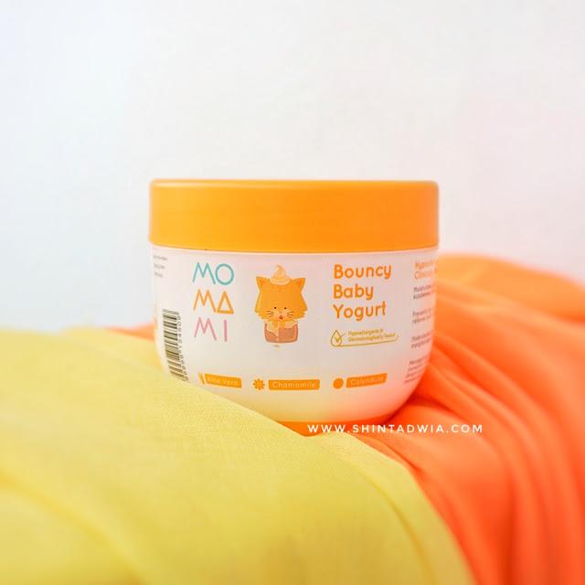 review momami bouncy baby yogurt