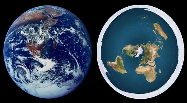 6 Klaim yang Dianggap Aneh Tentang Teori Konspirasi Bumi Datar
