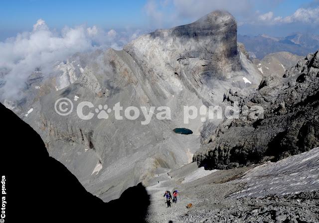 Rutas por Pirineos. Ruta al Monte Perdido desde Nerín
