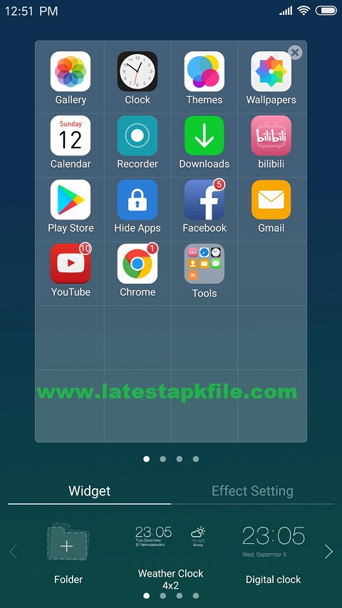 X Launcher With Os12 Style Theme Control Center-V-2 6 8 Apk
